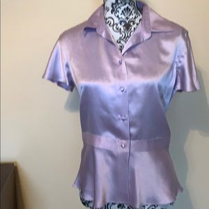 NWT Banana Republic 100% Silk Blouse